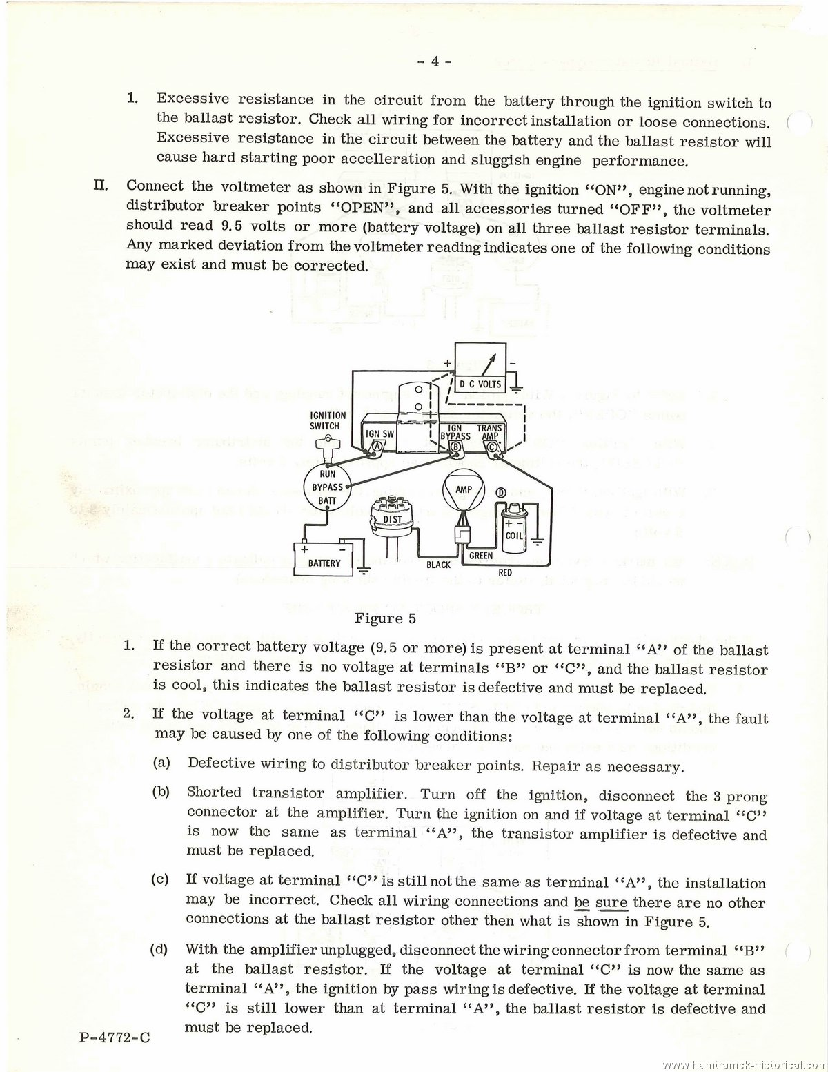 The 1970 Hamtramck Registry 1966 Tsbs And Related Material Index Page 426 Hemi Distributor Wiring Diagram No