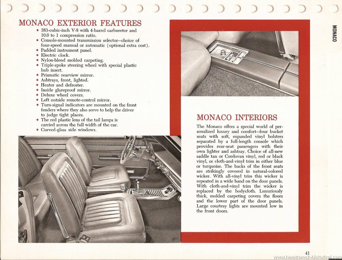 The 1970 Hamtramck Registry - 1965 Dodge Dealership Data