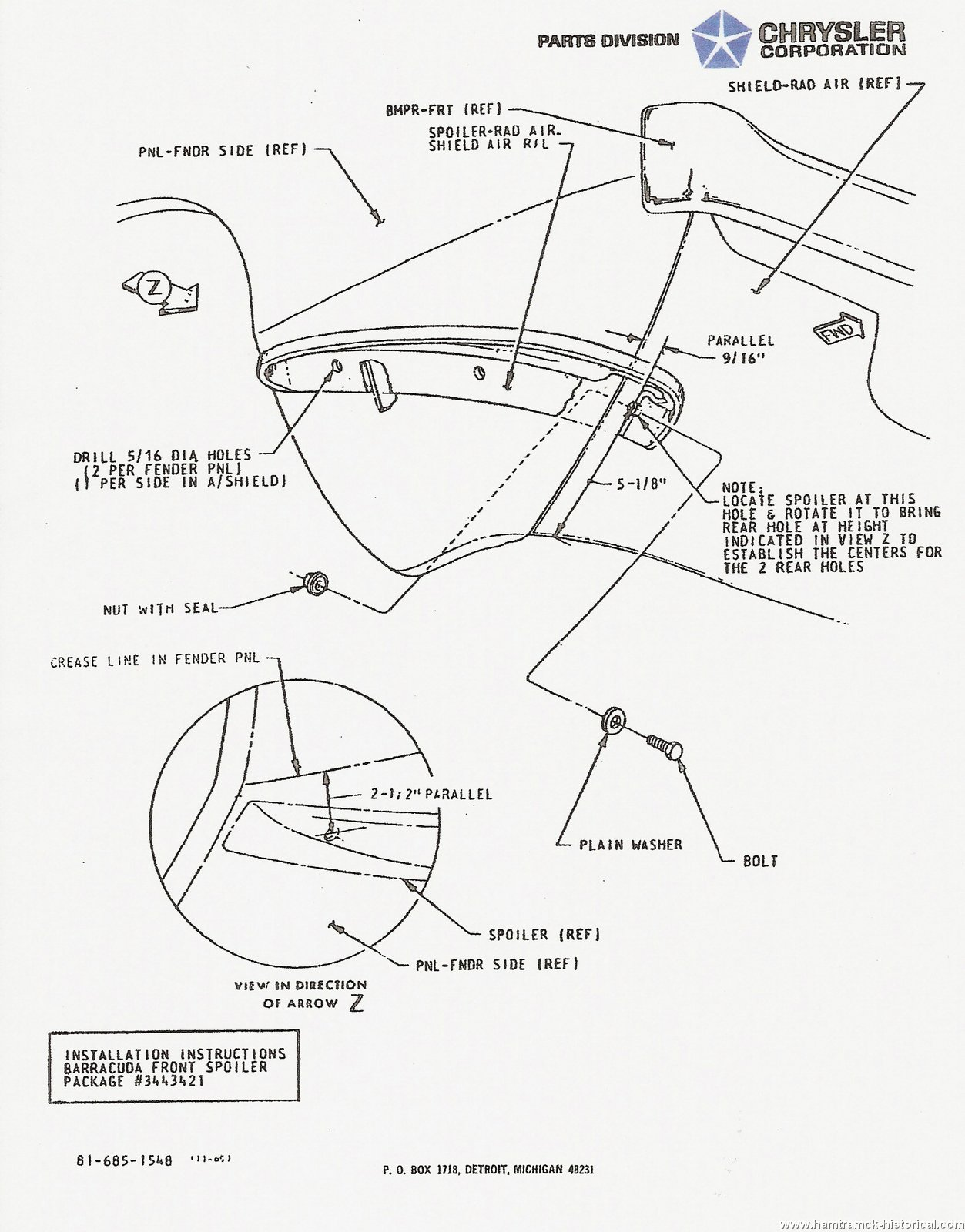 wiring diagram for 1965 barracuda
