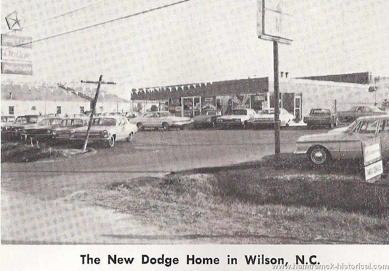 The 1970 hamtramck registry dealership photos for Wilson county motors service