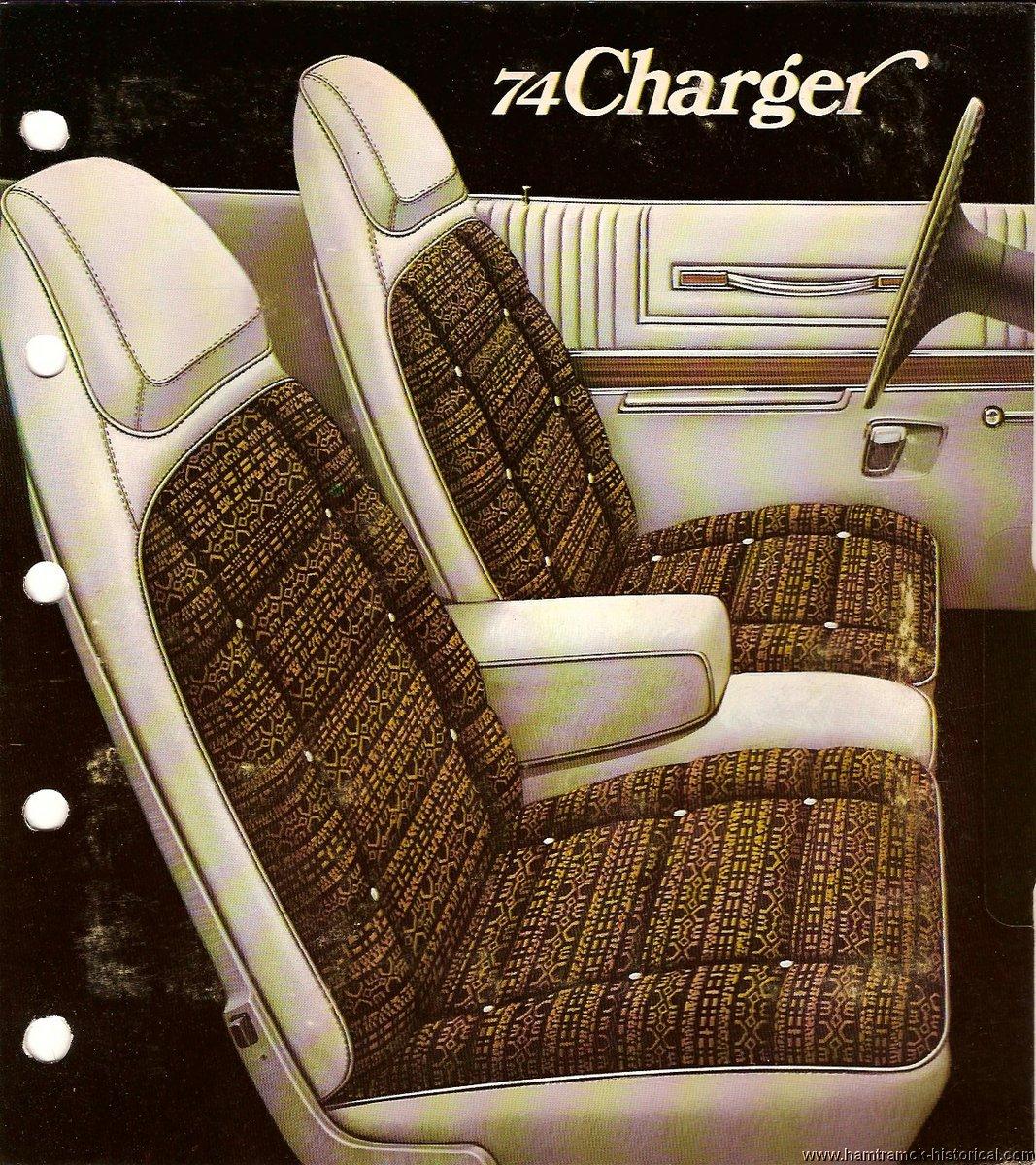 The 1970 Hamtramck Registry 1974 Dodge Color Amp Trim Book