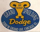 Image: mr. norms dealership sticker