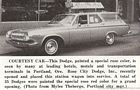 Image: rose city dodge portland or oct 1963