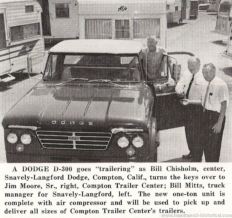 The 1970 Hamtramck Registry - Dealership Photos