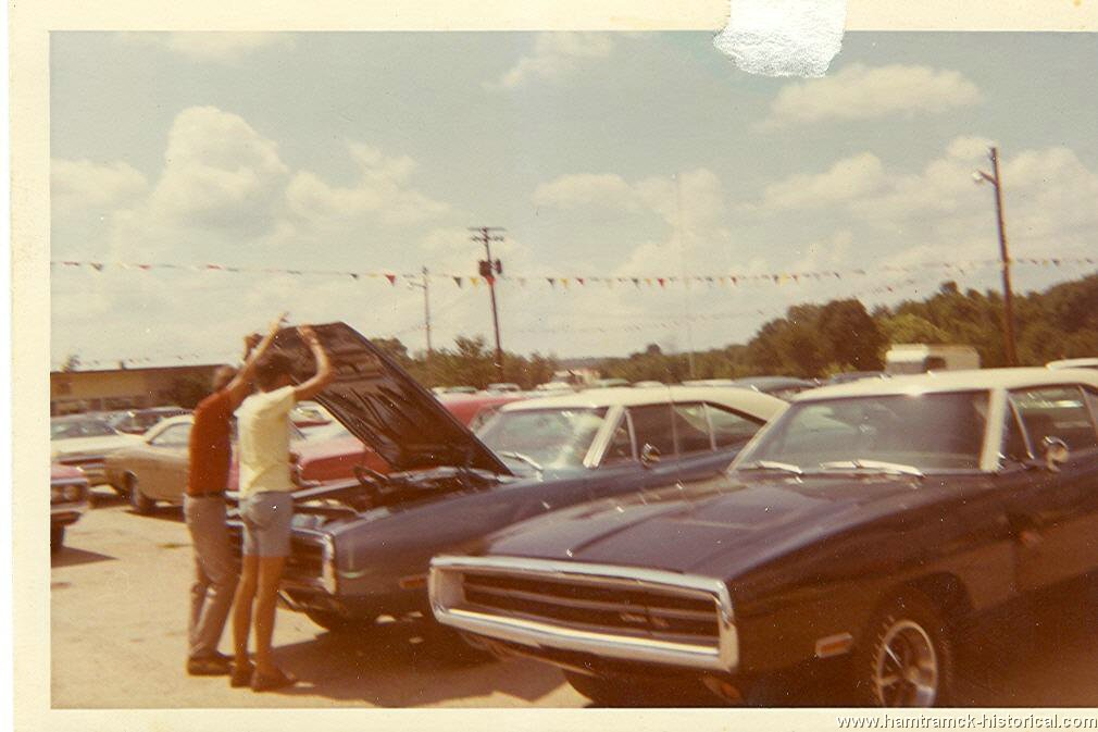 The 1970 hamtramck registry dealership photos for Teeter motor co used car division malvern ar