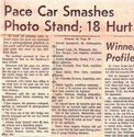 Image: pace car smashes photo stand -edited to fit