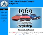 The 1969 Dodge Charger Registry