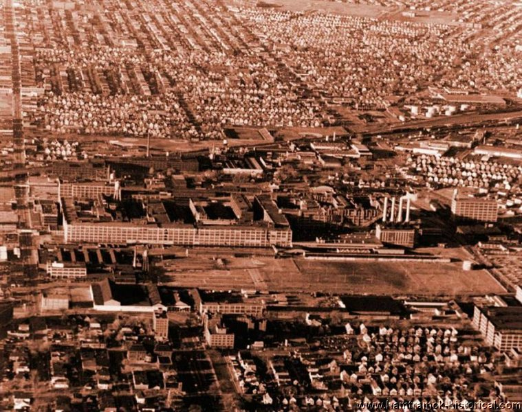 Hamtramck assembly plant aerial
