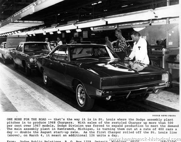 The 1970 Hamtramck Registry Assembly Plants Photos Page