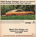 69 Charger Ad