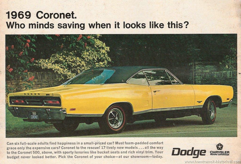 69 Dodge Coronet 500