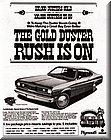 1970 Gold Duster ad