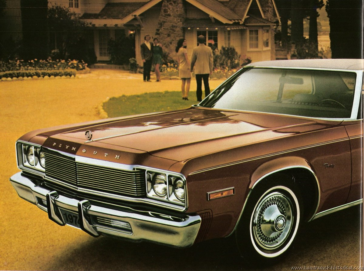 New Dodge Charger >> The 1970 Hamtramck Registry - 1974 Chrysler Plymouth Brochure Page