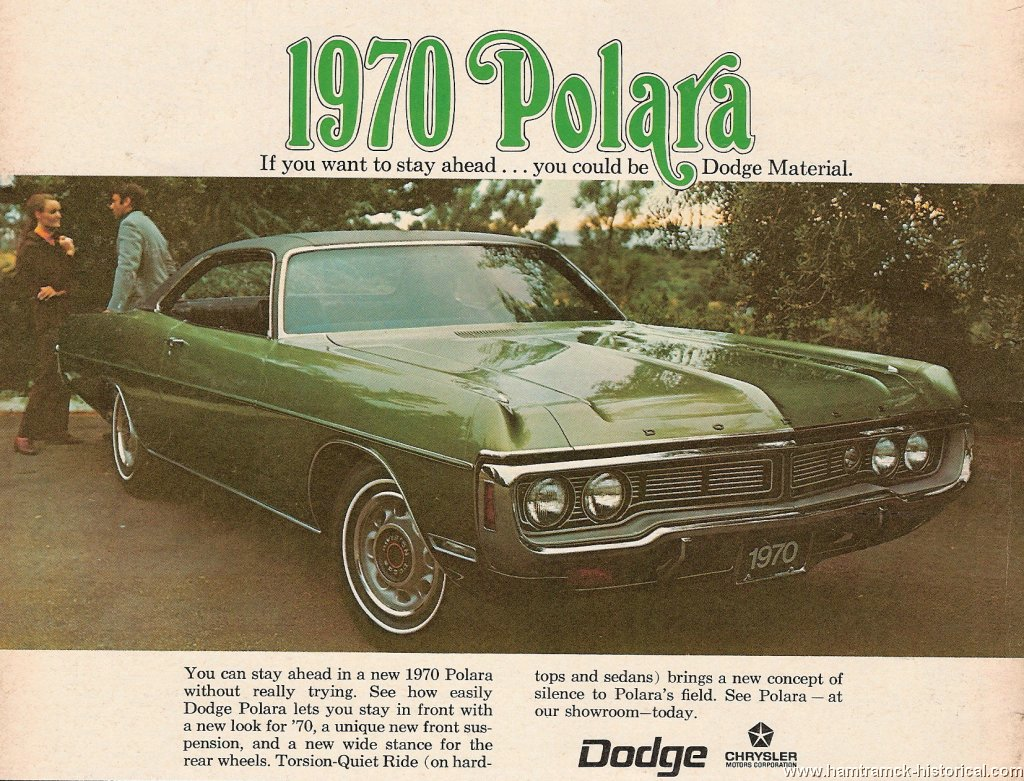 HH Files. 70 Dodge Polara